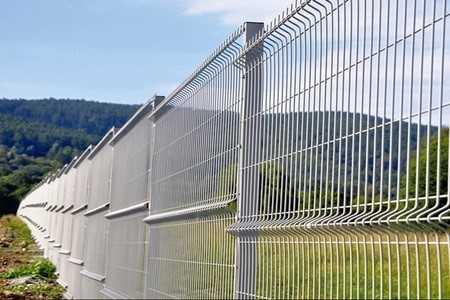 3D galvanisiertes Zaun