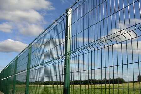 3D horganyzott kerítés