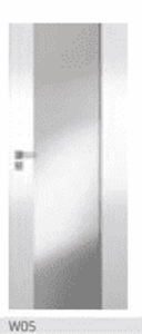 Polskone üveges beltéri ajtó