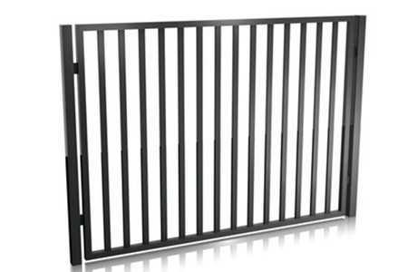 Horganyzott alumínium kerítés panel