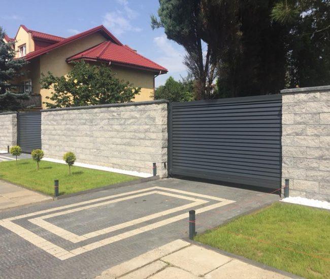 ALFEN kerítés kapu